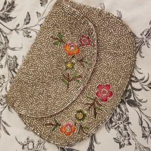 Urban Outfitters Beaded Clutch NWOT